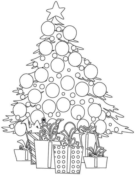 christmas ornament tree to color print tree coloring pages to print coloring for 2018