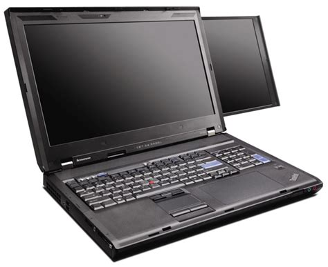 Laptop Lenovo Dual lenovo thinkpad w700ds dual screen laptop details and pics unearthed