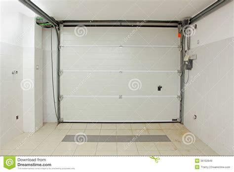Garage Interior Door Garage Interior Stock Image Image Of Entrance Garage 36102849