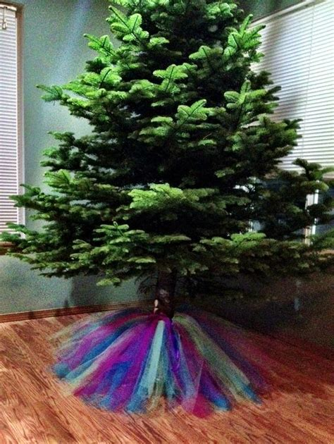 tulle christmas tree skirt i made that pinterest