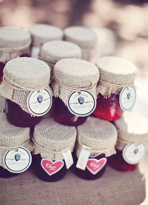 Marmellata Tote by Fall Wedding Favors 24 Original And Affordable Ideas You