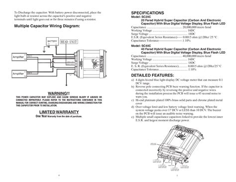 soundstream capacitor wiring diagram 36 wiring diagram