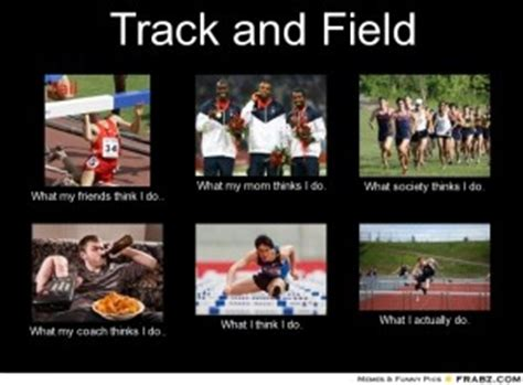 Track And Field Memes - funny track and field quotes quotesgram
