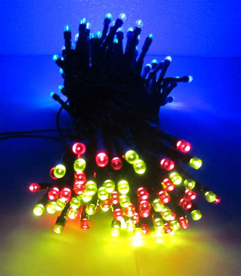 28ft outdoor string christmas lights new 55 foot solar powered outdoor string lights w 150 leds ebay