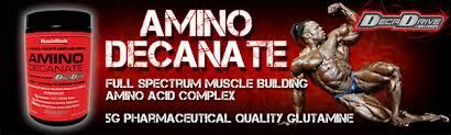 Suplemen Glutamine Decanate 385rb 085642299885 Musclemeds Amino Decanate 360gr