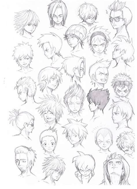 anime hairstyles guys tutorial 17 best images about hair and horns on pinterest hair