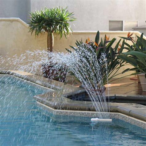 inground pool fountains wall mounted pool fountain