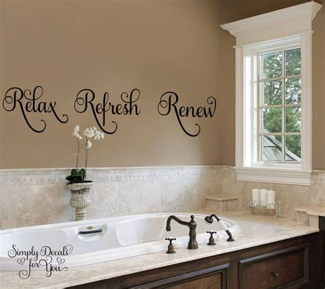 bathroom vinyl wall 25 best ideas about bathroom wall decals on pinterest