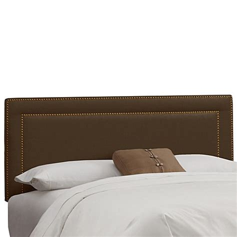 skyline nail button headboard buy skyline furniture twin nail button border headboard in