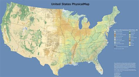 united states physical geography map usa map map of world
