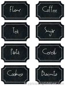 Best Kitchen Canisters a typical english home free printable kitchen labels