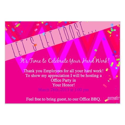 Simple Invitation For Office Opening Ceremony Party Invitations Ideas Office Invite Template