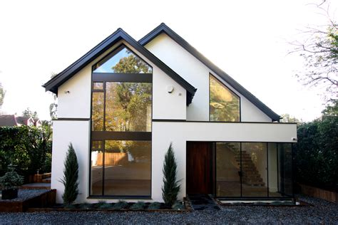 build homes contemporary new build house in chorleywood