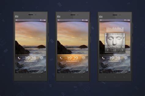 miui lock themes v6 lockscreen for miui v5 by xiaomi miui on deviantart