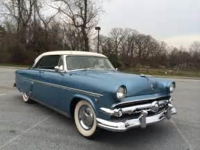 1954 ford crestline offered for auction hemmings motor