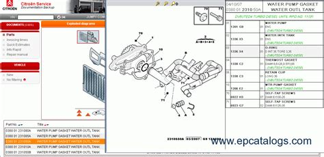 Citroen Parts by Citroen Spare Parts Catalog Book Repair Manual