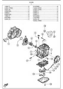 mazda 3 automatic transmission gasket seal kit 6 speed