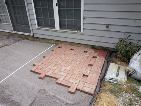 how to build patio steps from pavers icamblog