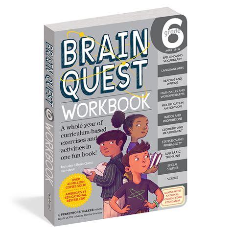 Brain Quest Workbook Grade 5 brain quest workbook grade 6