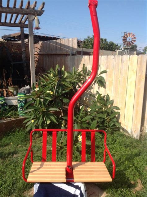 ski lift chair ideas 1000 images about restored ski lift chairs on