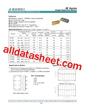 ir 820 datasheet pdf bowei integrated circuits co ltd