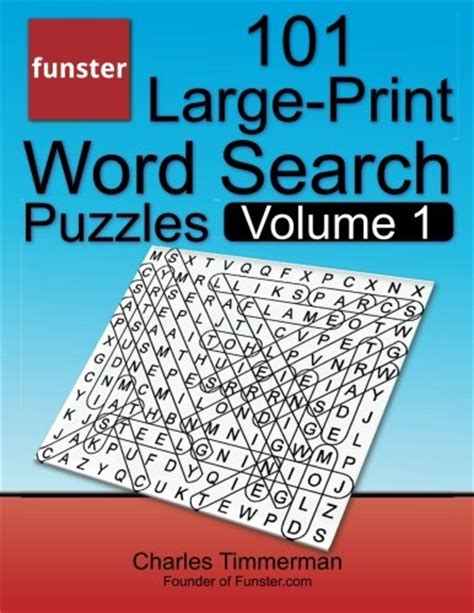 sam s large print word search 51 word search puzzles volume 4 brain stimulating puzzle activities for many hours of entertainment activities for many hours of entertainment books funster 101 large print word search puzzles volume 1