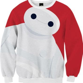 Sweater Baymax 3 baymax sweatshirt created by alessandro from print all me