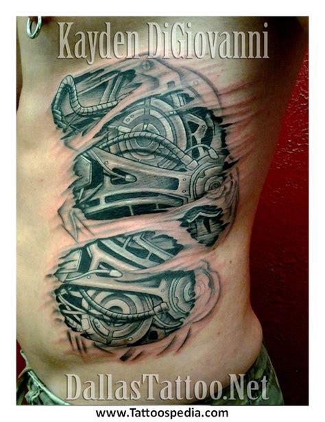 biomechanical tattoo rib cage biomechanical tattoo rib cage 3