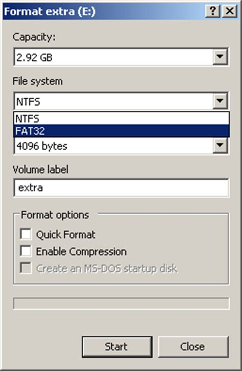 Format Fat32 On Windows Xp | format fat32 in windows xp