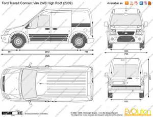 Ford Cargo Dimensions Ford Transit Connect Dimensions Lwb