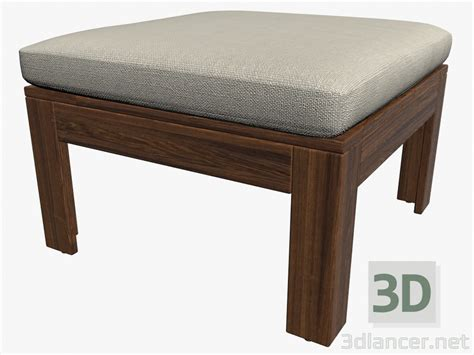 bench models 3d model table bench with cushion manufacturer ikea id 16204