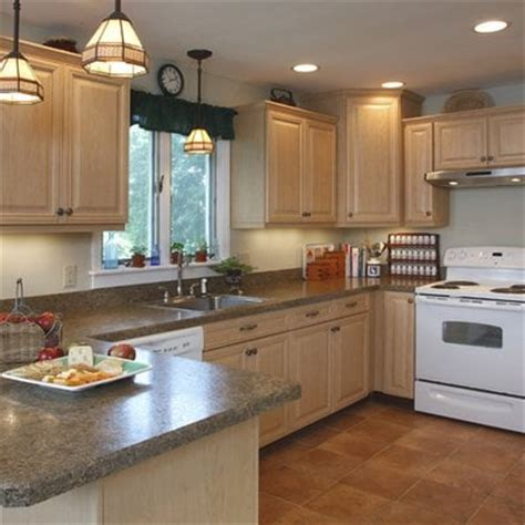 White Formica Kitchen Cabinets by Hardrock Maple Cabinets Vintage Style Formica