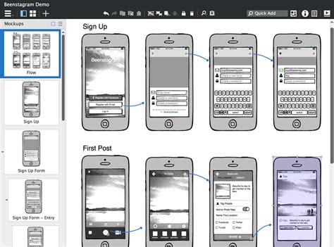 mockup design software open source company balsamiq