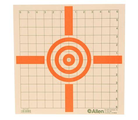 printable crosshair targets allen crosshair target 12pk sportsman s warehouse