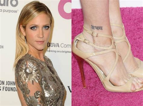 brittany snow tattoo with indian tattoos