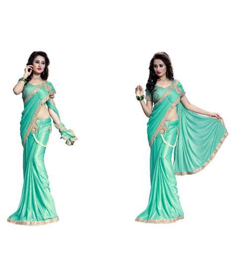 Neo Crepe Instant Pashmina Instant Crepe neo designer fashion sarees green crepe saree buy neo