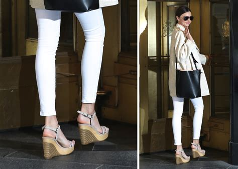 miranda kerr flat shoes miranda kerr has perfectly simple supermodel shoe style