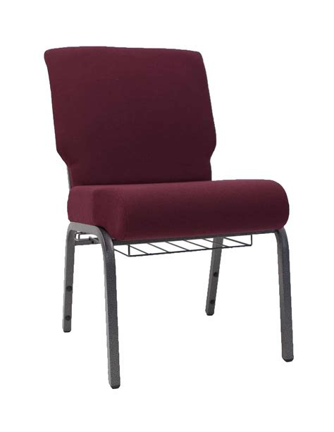 Worship Chairs by Am Cc Maroon 20 Inch Padded Church Chair The Furniture
