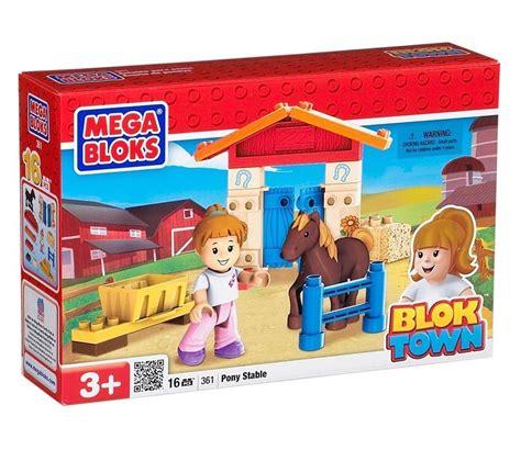 Mega Bloks Stable mega bloks bloktown pony stable 361 new in box mega blocks
