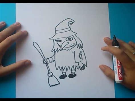 imagenes de brujas faciles para dibujar como dibujar una bruja paso a paso 2 how to draw a witch