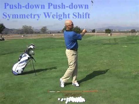 weight shift golf swing weight shift patterns a perfect golf swing technique by