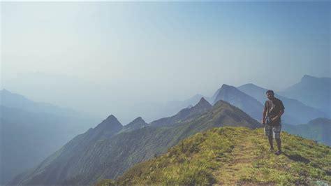 clouds meesapulimala trek  highest
