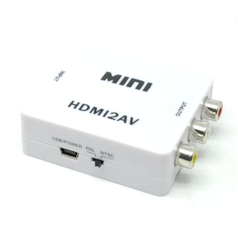 Saintholly Konverter Hdmi To Av St 209 saintholly konverter hdmi to av st 209 white jakartanotebook