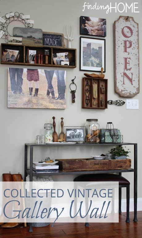wall home decor ideas decorating ideas collected vintage gallery wall finding