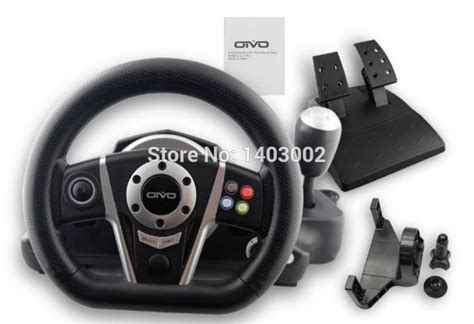 New Multifunction Wired Steering Wheels With Pedals