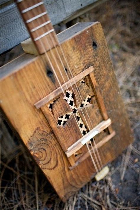Handmade Cigar Box Guitars - cigar box guitar the o jays and handmade on
