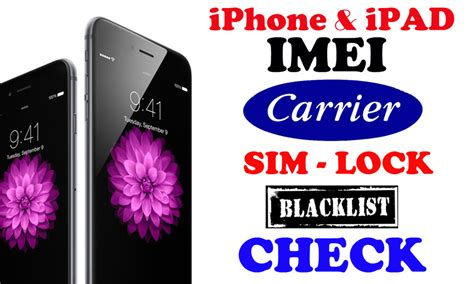 Iphone Imei Check Check Iphone Imei Checker Carrier Blacklist Sim Lock Status Find My Iphone Ebay