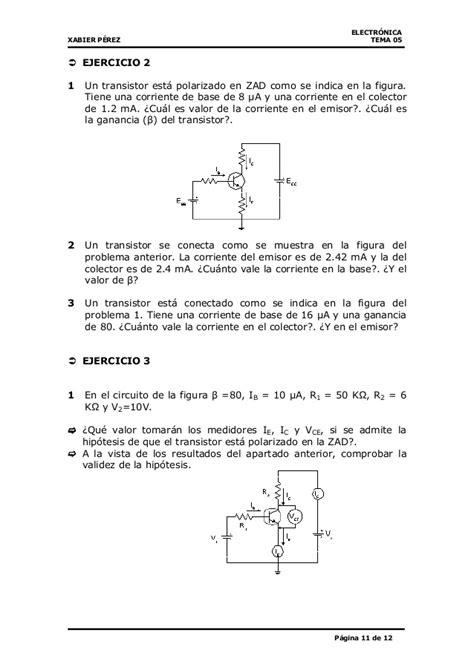 transistor bjt practica transistor bjt