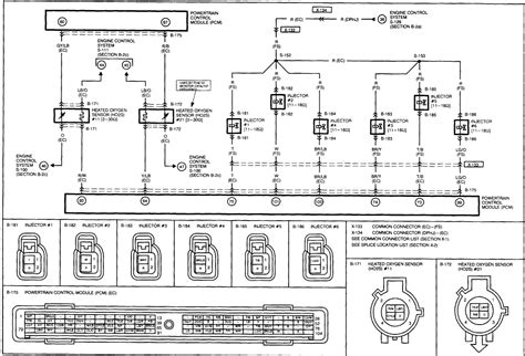 fuel injection wiring diagram   tribute mazda      wires