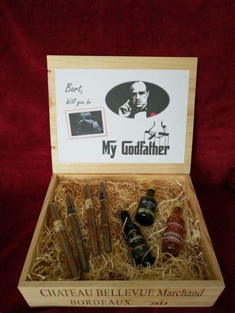 will you be my godfather godchild gifts pinterest